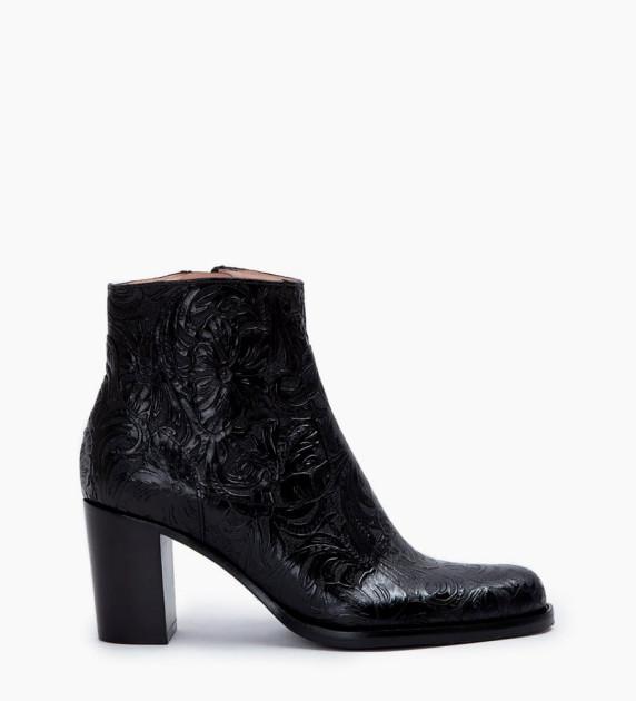 Legend 7 Zip Boots - Cuir Baroque - Noir