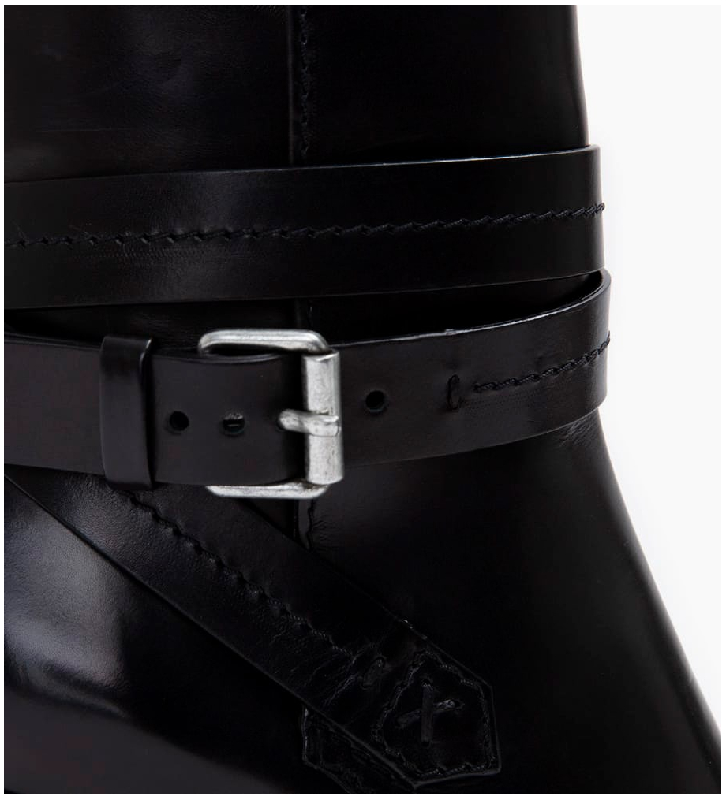 FREE LANCE Legend 7 Jodhpur Boots - Veau Lisse Mat - Noir