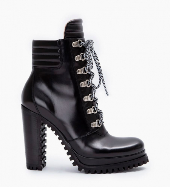 Lery 7 Trekking Boots - Veau Lisse Mat - Noir