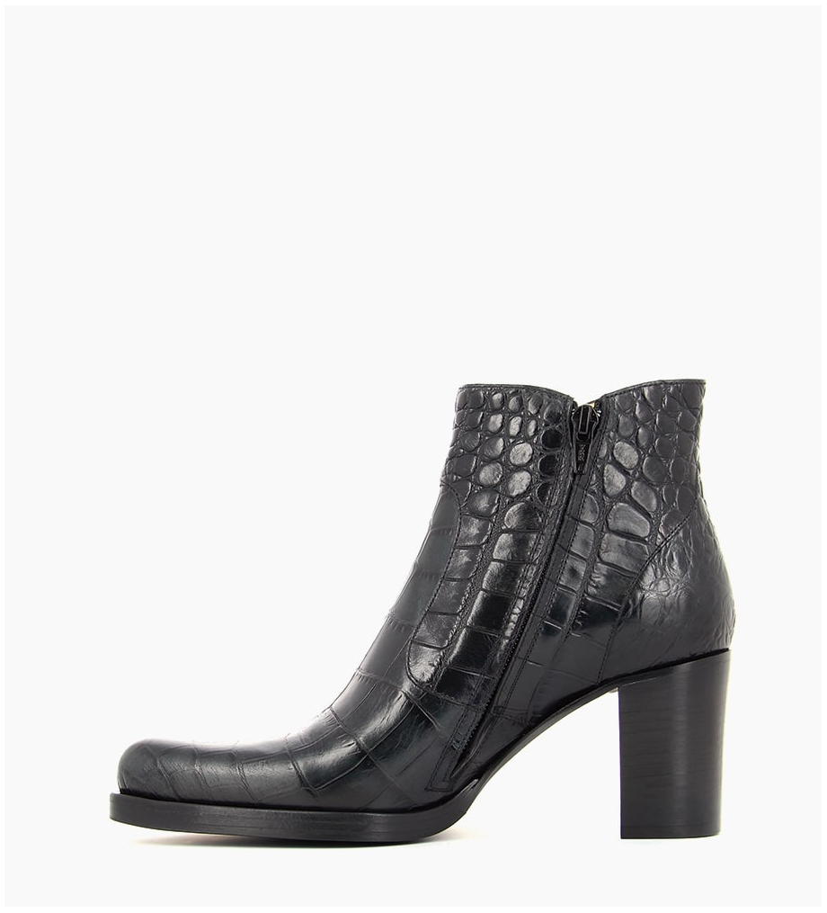 FREE LANCE PADDY 7 ZIP BOOT - CROCO FIRST - NOIR