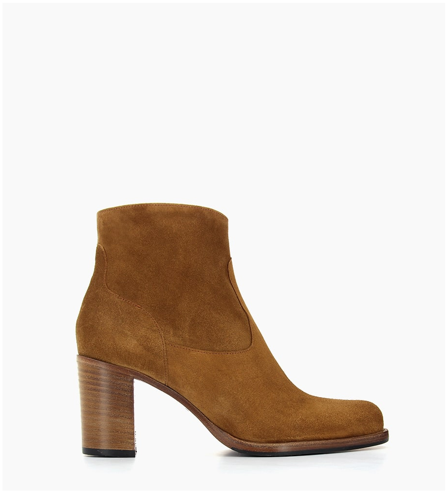 FREE LANCE LEGEND 7 ZIP BOOTS - SONIA EXTRA - CIGARE