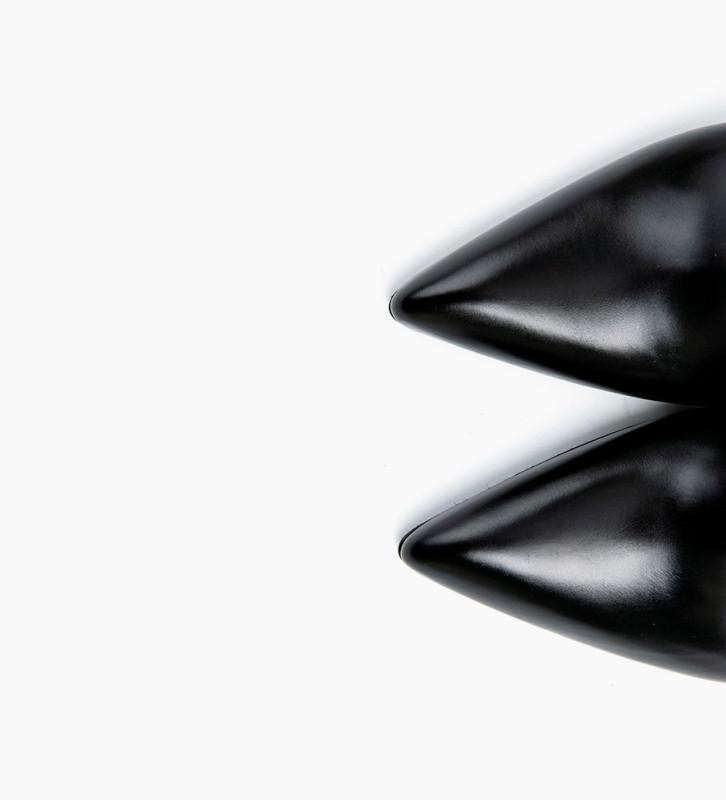 FREE LANCE FOREL 7 LOW ZIP BOOTS - VEAU LISSE - NOIR