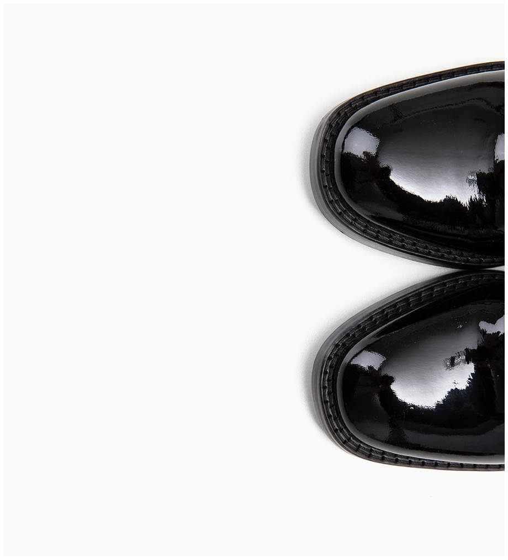 Eshop FREE LANCE Chiara 6 Zip Boots - Cuir Vernis - Noir
