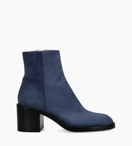 Ankle boot CHIARA 6 - Suede - Royal Blue