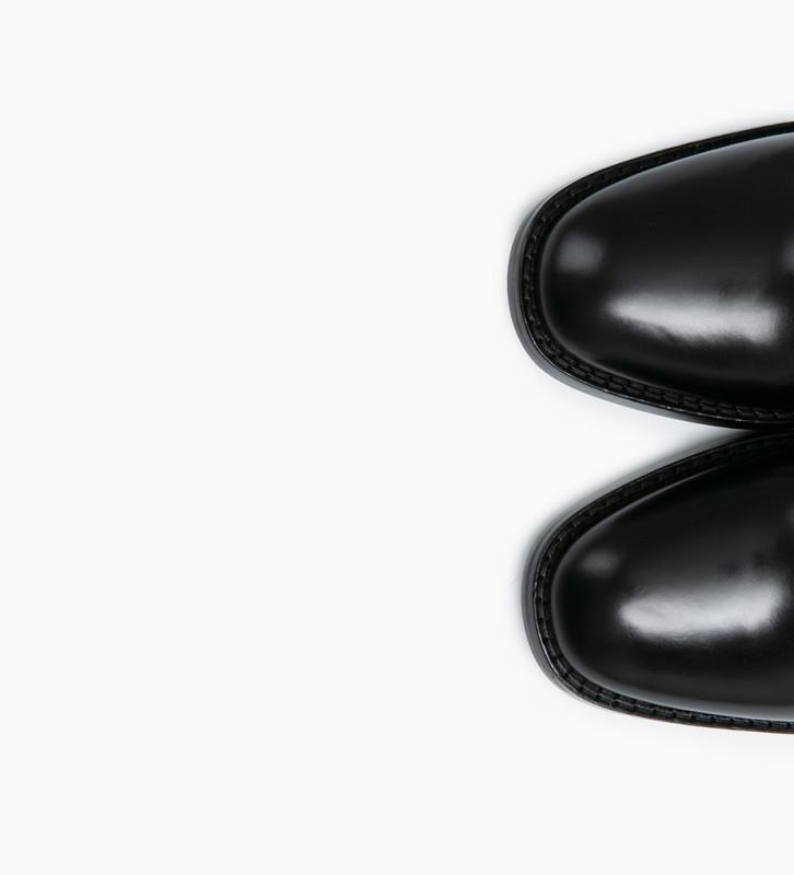 Eshop FREE LANCE Bottine zippée à talon CHIARA 6 - Veau lisse - Noir