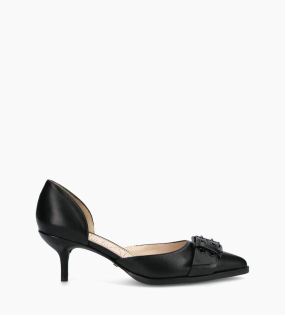 D'Orsay pump JAMIE 45 - Nappa Lambskin - Black